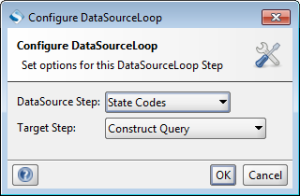 DataSource Loop step.